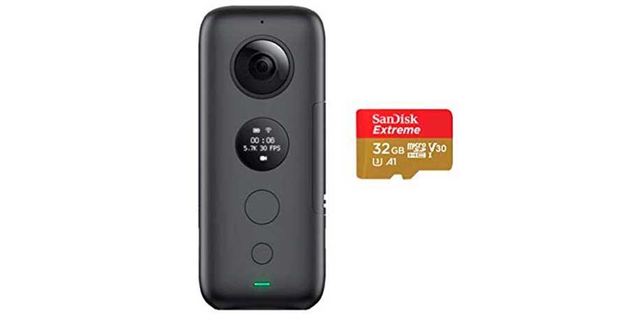 Insta-360-One-X-Con-Micro-SDHC-32-gb
