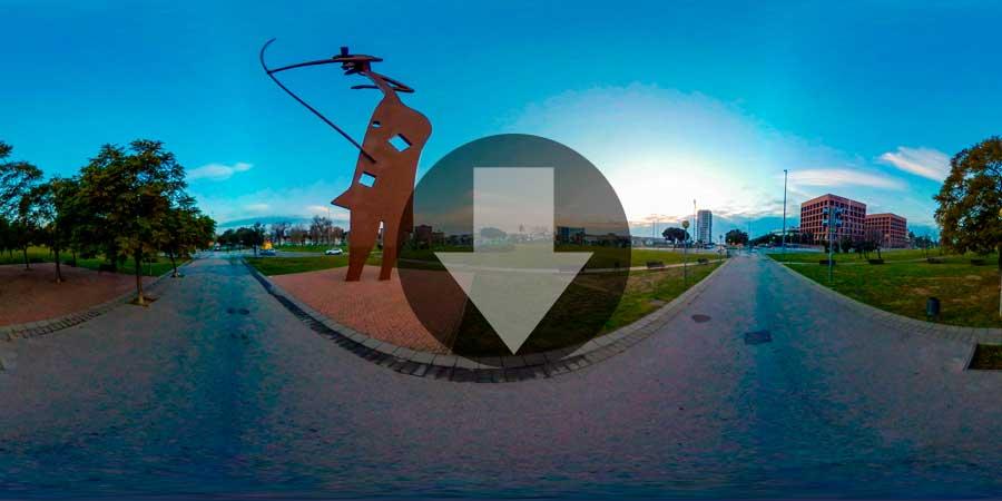 Imagen-360--Mataro-puerta-de-entrada-rotonda-Laia-la-Arquera