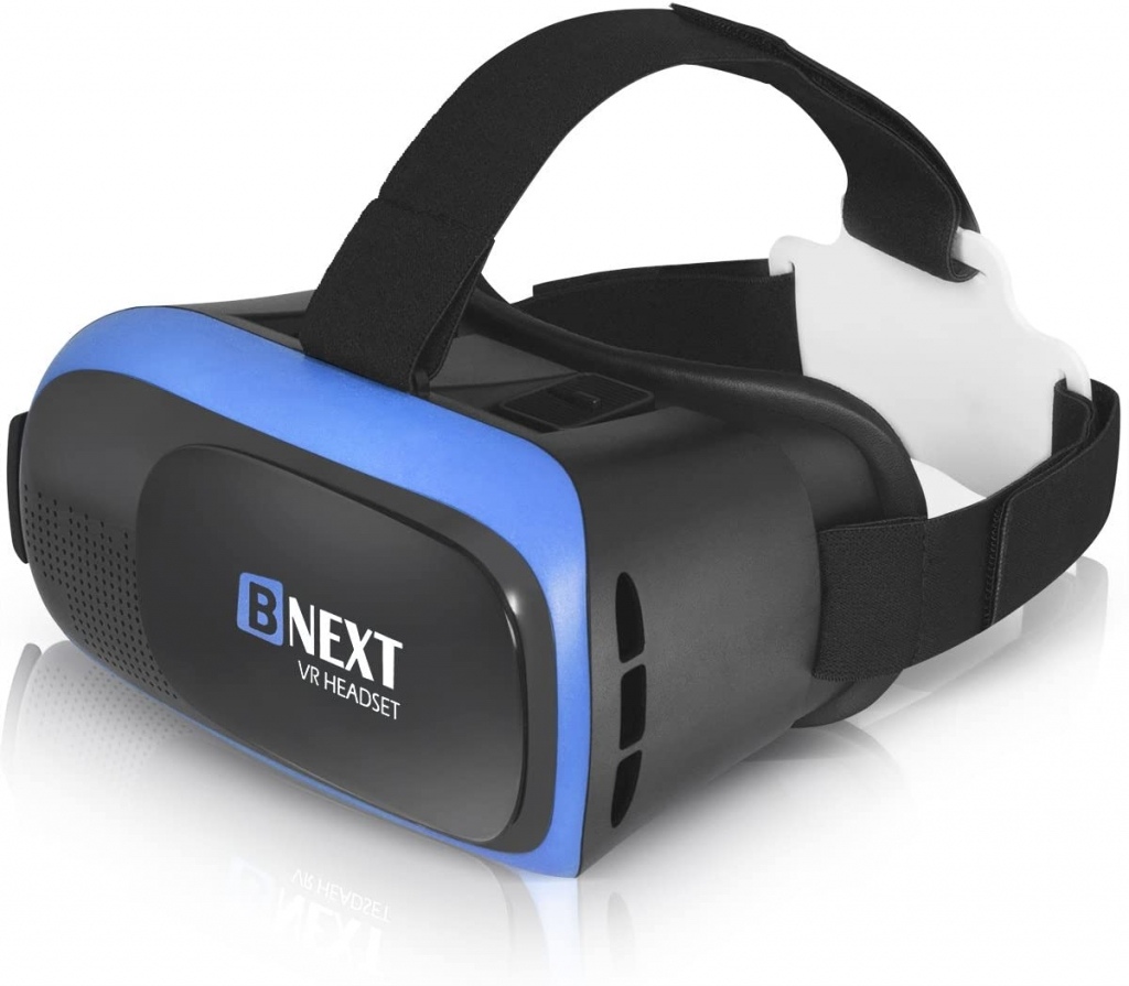 BNext Gafas de Realidad Virtual VR 360 Azules