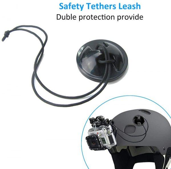 Adaptador para casco con doble proteccion