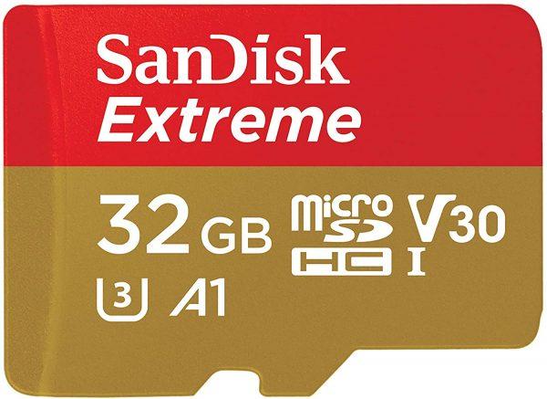 MicroSD SanDisk Extreme SDHC V30 A1