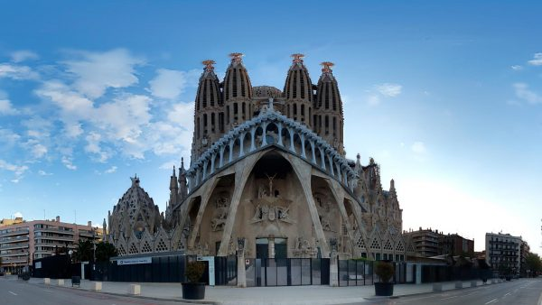 Foto 360 Sagrada Familia de Barcelona