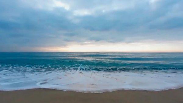 Vídeo 360 del Mar desde una Playa