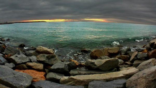 Foto 360 Espigón en el Mar